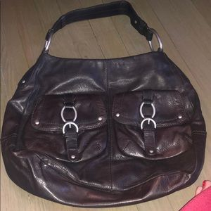 Sigrid Olsen all leather hobo bag